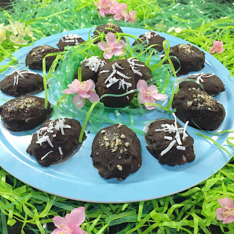 Healthy Easter Egg Candies made with Complete Whey Protein and Complete Pea Protein!