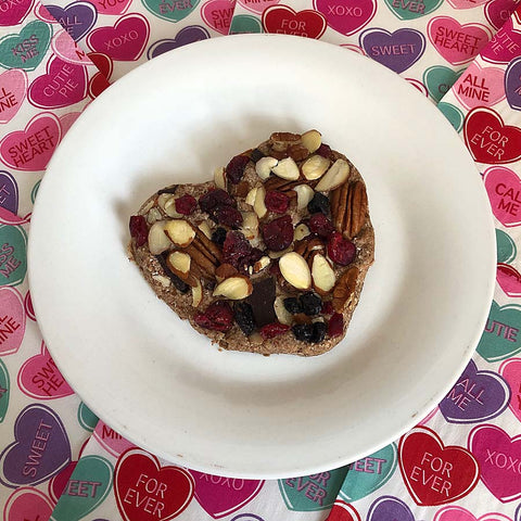 Healthy Heart snacks for your Valentine made with High Quality Complete Whey Protein powder!