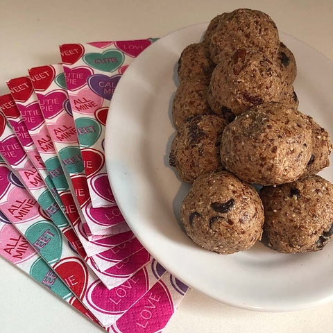 Heart Healthy Protein Balls made with Complete Whey Protein powder!