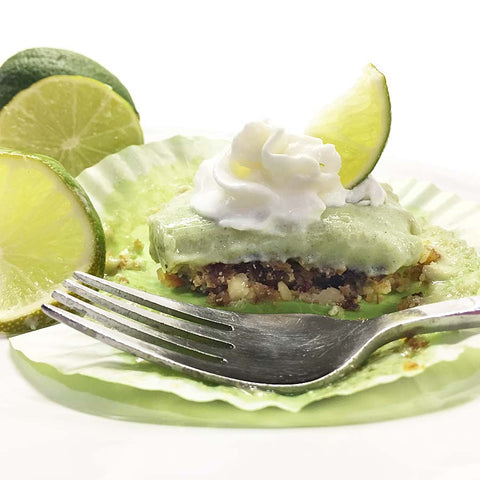 Keto Key Lime Pies for a healthy dessert or snack!