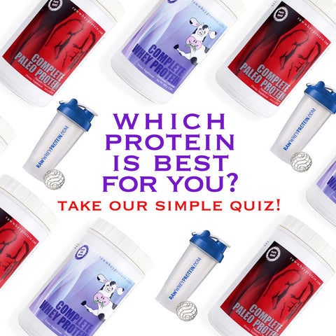 Which protein is best for you? Take our simple quiz!