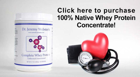Complete Whey Protein benefits healthy blood pressure!
