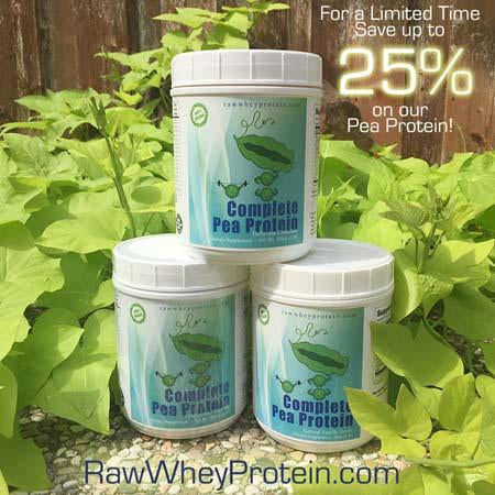 For a Limited Time, Get up to 25% off on our Pea Protein!
