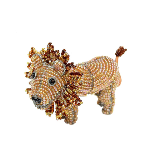 Beaded Lion - Small