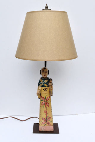 Santo Lamp Base (San Antonio)
