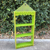 David Marsh Baby Crown Shelf - Lime Green