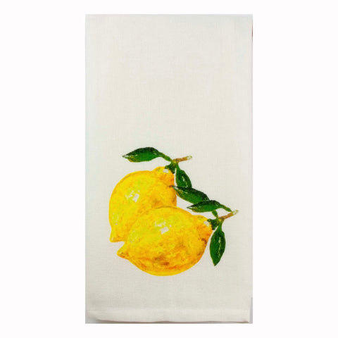 Two Lemons Dish Towel