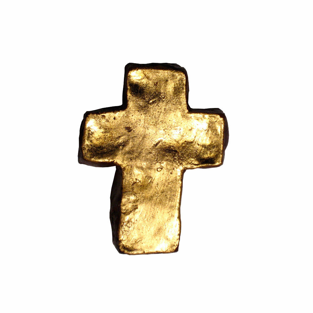 Extra-Extra Large Gold Cross
