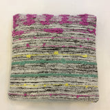 SALE - Recycled Silk and Wool Pillow