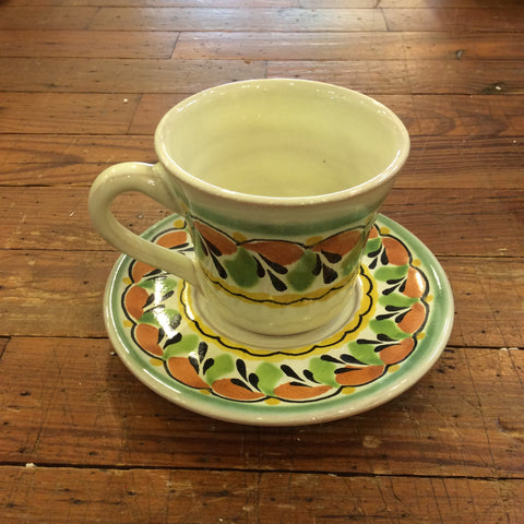 Gorky Espresso Cup and Saucer Set