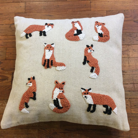 Knotty Fox Pillow