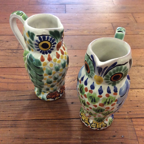 Gorky Tequila Owl Pitcher - Small