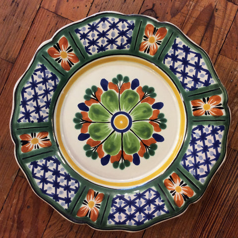 Gorky Salad Plate - Lattice Flower