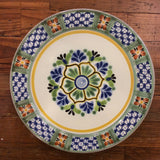 Gorky Round Dinner Plate - Flower