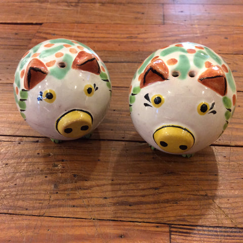 Gorky Salt and Pepper Shaker Set - Pigs