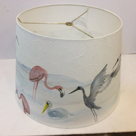 Water Birds Lampshade - Large