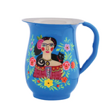 Frida Blue Jug Pitcher