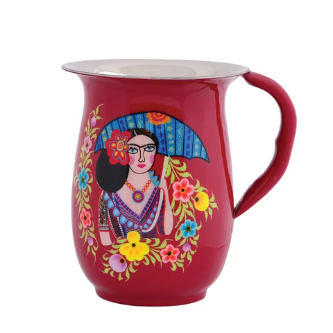 Frida with Parasol Jug Pitcher