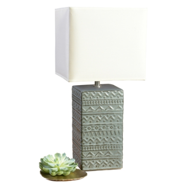 Skylar Ceramic Table Lamp - Small