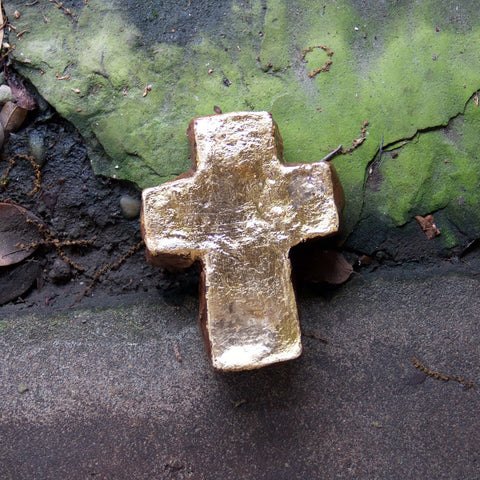 Medium Gold Cross
