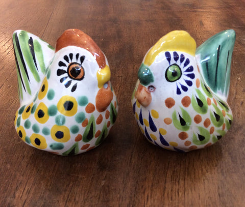 Gorky Salt and Pepper Shaker Set - Chickens