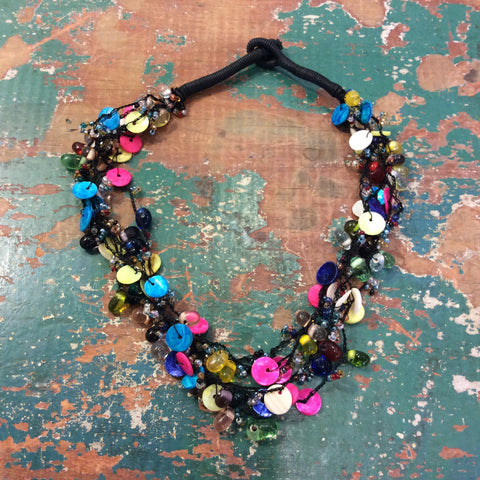 Rainbow Effect Necklace