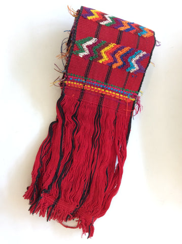 Guatemalan Table Runner (Red)