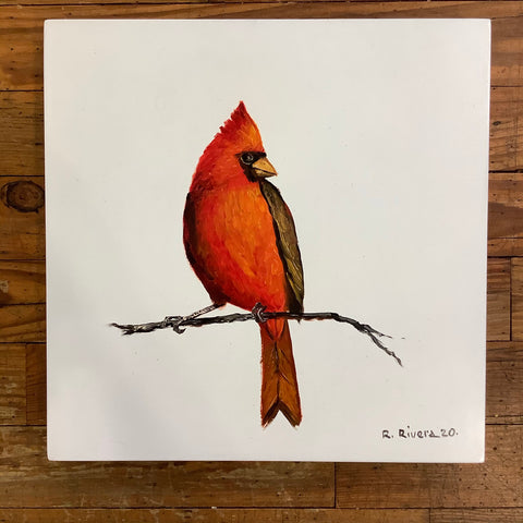 Renato Rivera Bird Painting - 7