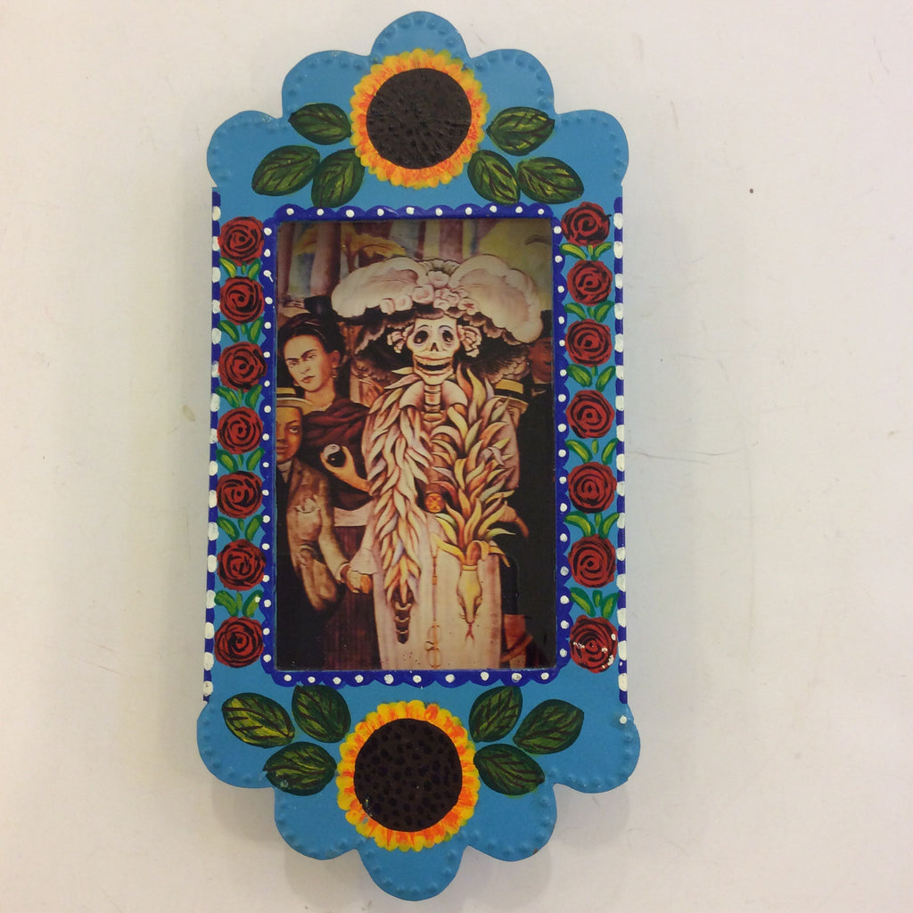 Large Nicho Box from Mexico - Skeleton Catrina