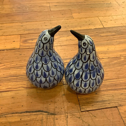 Gorky Salt and Pepper Shaker Set - Kiwi Bird