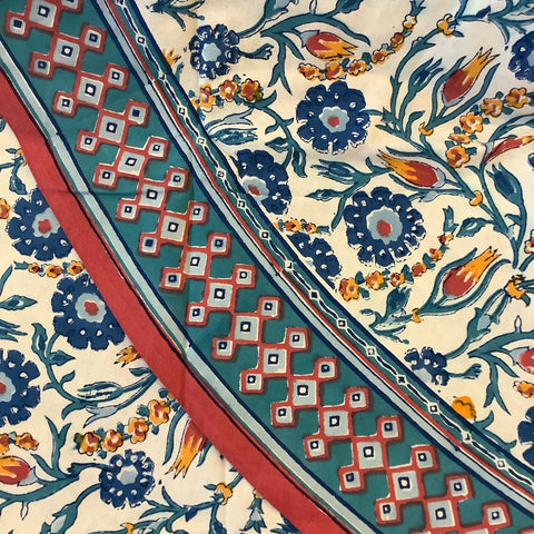 "Iznik Tablecloth - 86"" Round"