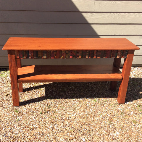 SALE - David Marsh 5 Foot Tesoros Console Table with Shelf