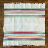 Hand Woven Cotton Napkin from Guatemala - Multicolored