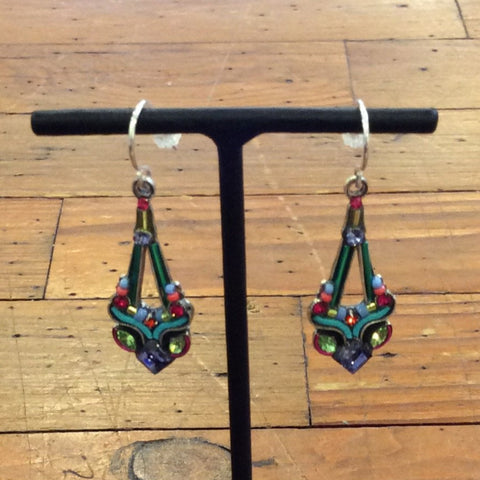 Parisian Drop Earrings - Multicolor