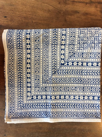 Nona Blue Tablecloth