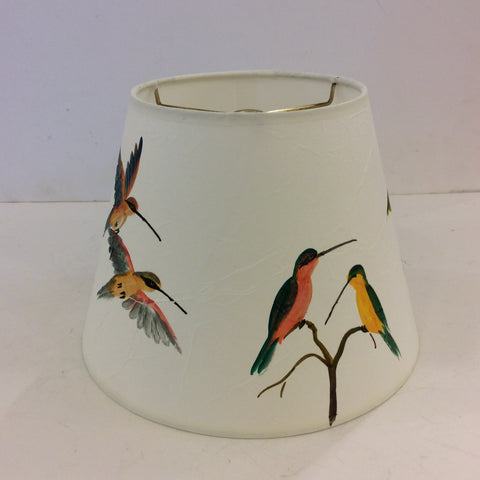 Birds Painted Lampshade