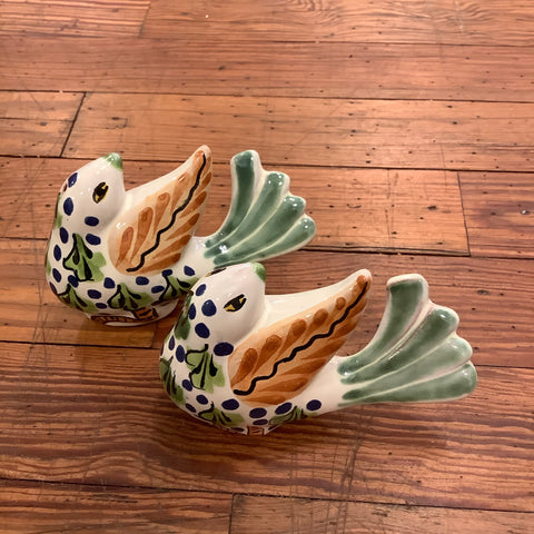 Gorky Salt and Pepper Shaker Set - New Birds