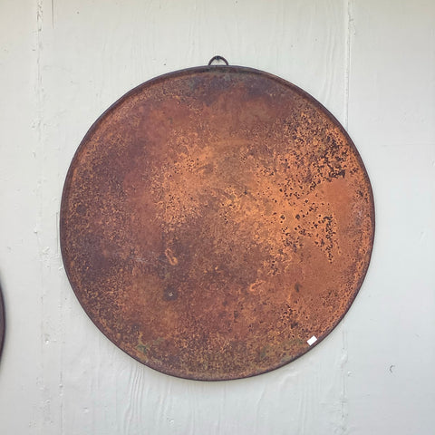 Extra Large Round Metal Tray
