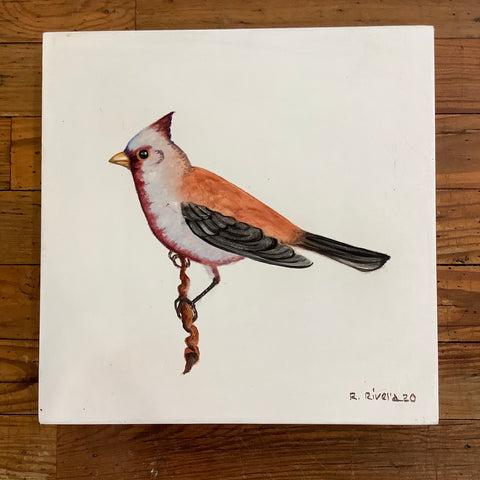 Renato Rivera Bird Painting - 6