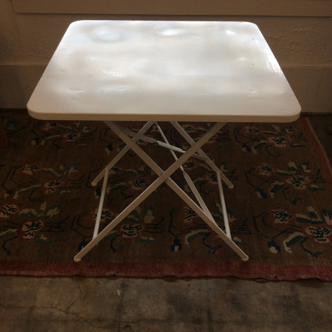 Square Metal Folding Table