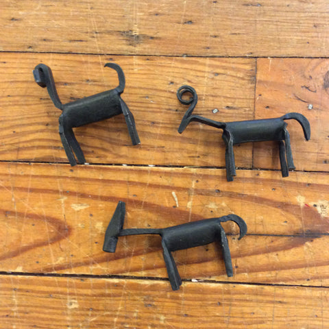Tiny Handforged Iron Animal from India