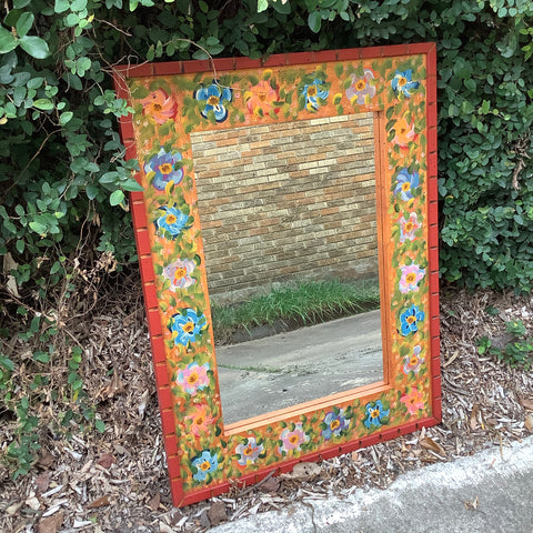 SALE - David Marsh Roses Mirror