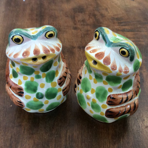 Gorky Salt and Pepper Shaker Set - Frogs