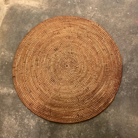 Round Woven Placemat from Indonesia