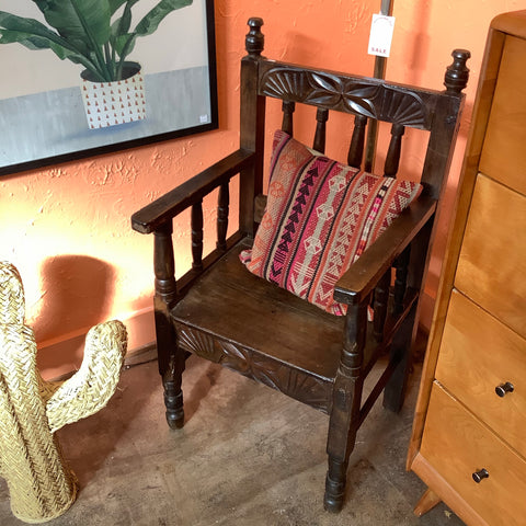Wooden Guatemalan Chair