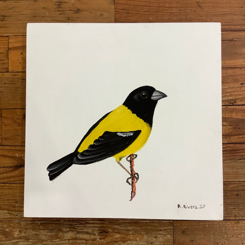 Renato Rivera Bird Painting - 9