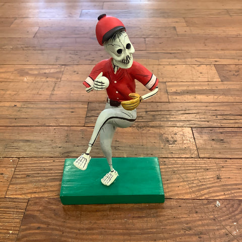 Skeleton Base - Baseball Pitcher