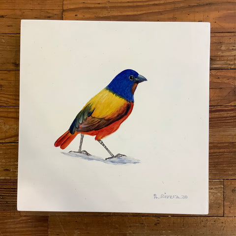 Renato Rivera Bird Painting - 4