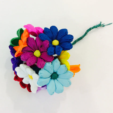Mexican Paper Flower Bouquet - Teresita