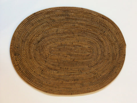 Oval Woven Placemat from Indonesia